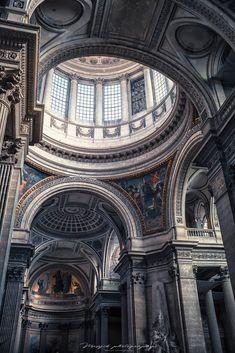 Architecture Baroque, Architecture Classique, Neoclassical Architecture, Ancient Greek Architecture, Beautiful Architecture, Beautiful Buildings, Architecture Design, Aesthetic Art, Aesthetic Pictures