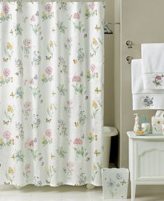 Lenox Bath Accessories, Butterfly Meadow Shower Curtain - Shower Curtains & Accessories - Bed & Bath - Macy's Regularly $50 Sale $34.99 plus and additional 10% off.