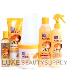 Luxe Beauty Supply - Dark and Lovely Au Naturale Moisture L.O.C. Collection, $49.99 (http://www.lhboutique.com/dark-and-lovely-au-naturale-moisture-l-o-c-collection/)