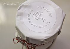Homestead Revival: Wrapping Up Christmas | buy one of these from the kitchen embossers.