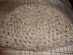 Gorro lana japeada matizados marrones