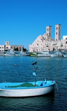 Molfetta porto Regions Of Italy, Southern Italy, Italy Travel, New York Skyline, Road Trip, Places To Visit, Island, World, Life