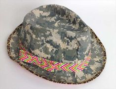 Duct Tape Crafts Ideas for DIY Home Decor, Fashion and Accessories | DIY Duct Tape Crazy Hat Tutorial | DIY Projects for Teens | http://diyprojectsforteens.com/duct-tape-projects/