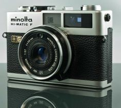 Minolta Hi-Matic F - My dad just gave me his camera that he had since I was a baby!