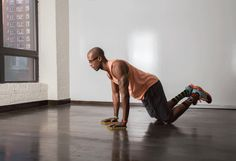 26. Arm Slide #fitness #workout #bodyweight http://greatist.com/move/sliders-workout