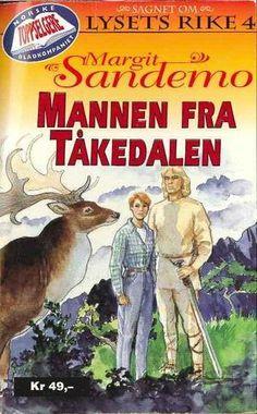 """""""Mannen fra Tåkedalen"""" av Margit Sandemo"""