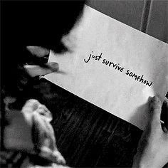 """""""JSS"""". Season 6. Enid leaves a note for Carl."""