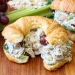 This Best-Ever Chicken Salad is really wonderful. Perfect for incredible chicken salad sandwiches (croissants are great!), or ton top of a lovely bed of green. Either way, you're just going to love More from my siteHow to Make the Best-Ever Chicken Salad Best Chicken Salad Recipe, Chicken Recipes, Chicken Meals, Costco Chicken Salad, Rotisserie Chicken Salad, Chicken Sandwich, Chicken Salad On Croissant, Healthy Recipes, Eating Clean
