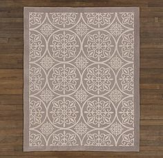 Nursery will need a rug...love this one