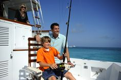 Fishing For Fun and Adventure in the Crystal Clear Waters Off Nassau Paradise Island