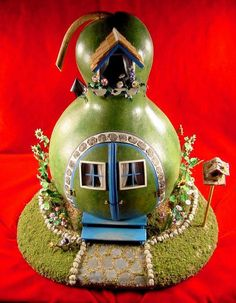 Gourd Image gallery mouse houses and dollhouses