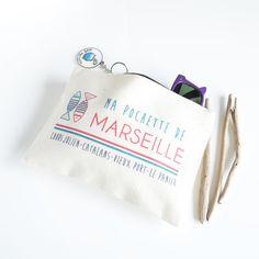 Pochette Marseille - coton bio