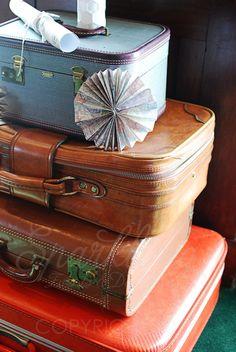 Vintage Suitcases & Trunks   Vintage luggage   SUITCASES/ TRUNKS