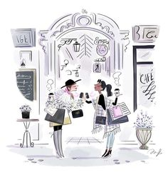 illustration magalie F shoppingparis.jpg - Magalie F | Virginie