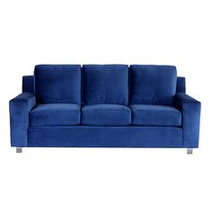Eco-friendly contemporary sofa in blue with extra-wide arms. Product: SofaConstruction Material: Wood, high-grade s. Family Room Decorating, Decorating Your Home, Decorating Ideas, Contemporary Furniture, Cool Furniture, Modern Contemporary, Im Coming Home, Unique Sofas, Design Your Life