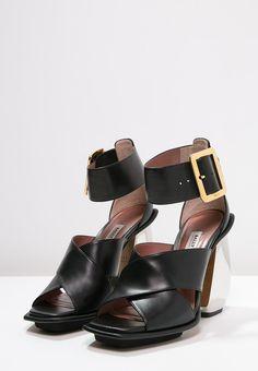 bally jacinte high heel sandaletten black stylaholic fashion. Black Bedroom Furniture Sets. Home Design Ideas