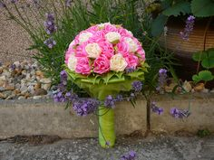 ružová kytička
