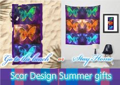 All Made of Stars by Scar Design #home #gifts #homegifts #summerhome #summer #summer2016 #beach #beachtowel #walltapestry #space #stars #universe #giftsforher #giftsforhim #butterfly #buygifts