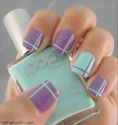 Lavender and mint