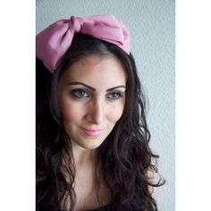 Rose Pink Bow Headband Alice Pink Bow Headband (£6.02) ❤ liked on Polyvore featuring accessories, hair accessories, headbands & turbans, pink, fascinator hat, bow hair accessories, turban headband, hair fascinators and bow headbands