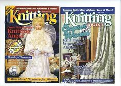 Knitting Digest Magazine Nov 1994 & July 1995 Pre-Owned Really Good Condition #KnittingDigest #Backissues #Knittingpatterns