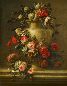 Jan Baptist Bosshaert  Floral Still Life  Late 17th - early 18th century