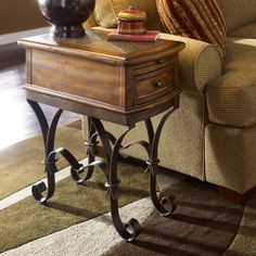 Have to have it. Riverside Stone Forge Chairside Table $351.00