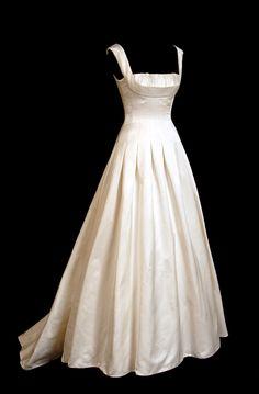 Bruce Oldfield Custom Wedding Dress