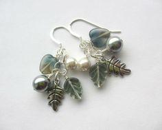 Winter Sky earrings