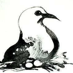 Brett Whiteley - Seagull, sugarlift aquatint - I didn't know Brett Whitely did sugalift, or printmaking I like this image. Australian Painting, Australian Birds, Australian Artists, Avant Garde Artists, Art Lessons For Kids, Vintage Birds, Etchings, Gravure, Bird Art