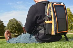 EnerPlex Packr Backpack Keeps Your Gadgets Going with a Built-In Solar Charger.