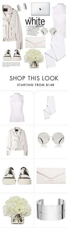"""white out"" by theworldisatourfeet ❤ liked on Polyvore featuring Maison Margiela, Tory Burch, R13, Chloé, STELLA McCARTNEY, Vera Bradley, Diane James and Dinh Van"