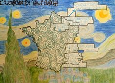 Places of Van Gogh, Art & Geography