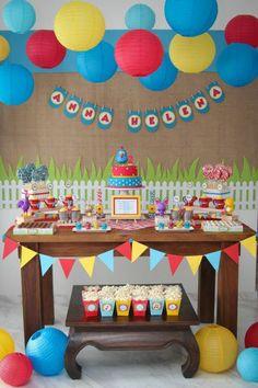 20 ideias para festa com tema Galinha Pintadinha.