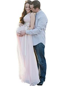 RMDress Chiffon Women V Neck Beach Maternity Pregnant Wedding Dresses Gown US 24W Pink * You can find out more details at the link of the image.