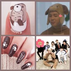 Bts nail art House of army jimin Korean Nail Art, Korean Nails, Army Nails, Bts Makeup, Kawaii Nail Art, Nail Arts, Nail Inspo, Bts Wallpaper, Cute Nails