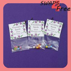 SWAPS4Free: Friendship Seeds Baggie Girl Scout SWAPS - Free Printable!