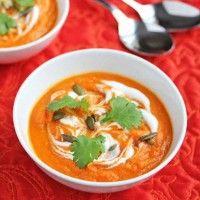 Carrot and Coriander Soup (vegan)