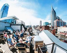 Visiting Nashville and want a good place to eat with an outdoor patio? Here are the best around town.