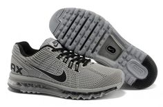 premium selection 25f26 1fca8 New Air Max 2013 Running Shoes For Men Grey Running Nike, Mens Running,  Running