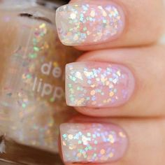 Good for a prom or wedding or a formal event just because glitter goes with anything!!