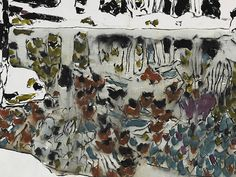 Courtesy of Dulwich Picture Gallery Canadian Painters, Canadian Artists, Abstract Landscape, Landscape Paintings, Landscapes, David Milne, Dulwich Picture Gallery, Watercolour Painting, Watercolors