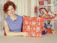 VIDEO: Learn how to sew a zip the easy way with our cushion cover tutorial