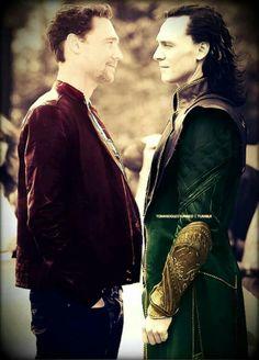 Loki & Tom Hiddleston