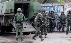 """BLOG  """"O ETERNO APRENDIZ"""" : FORÇAS ARMADAS  REALIZAM PELA 3ª VEZ OPERAÇÕES NA ..."""