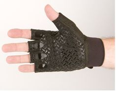 Bike & wheelchair grip gloves with a grip palm and adjustable back #bike gloves,#wheelchair gloves #seeandbesafe
