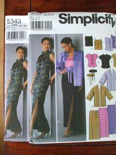 Second Silver - Women Dress jacket sash skirt top slim flared long short sleeve sewing pattern