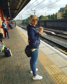 #warrington #england #thisisengland #uk #greatbritain #albion #travel #traveluk #railway #train #adidas #adidasstansmith #adidasoriginals #kway #wetjacket #rayban #casual #casualscene #casualstyle #casuallyobsessed #casualclobber