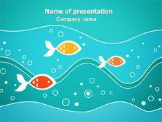 Colorful sea species powerpoint template is a free original httppptstarpowerpointtemplatefish toneelgroepblik Images