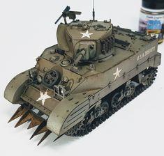 M5A1 Stuart Tamiya kit 1/35